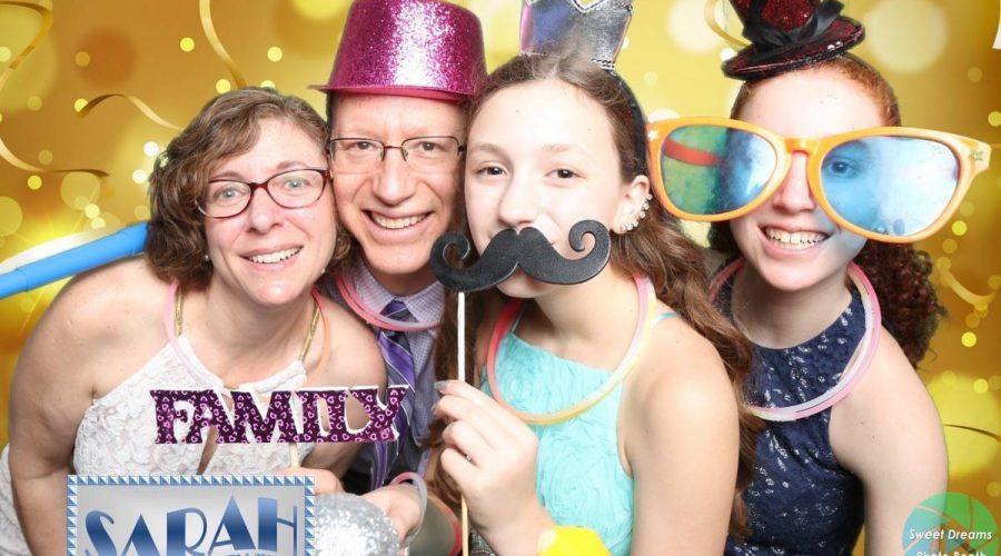 Photo Booth Sarah's Bat Mitzvah Party