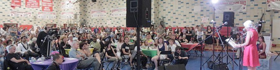 Video Hudson School Suellen Newman Retirement Party in Hoboken NJ