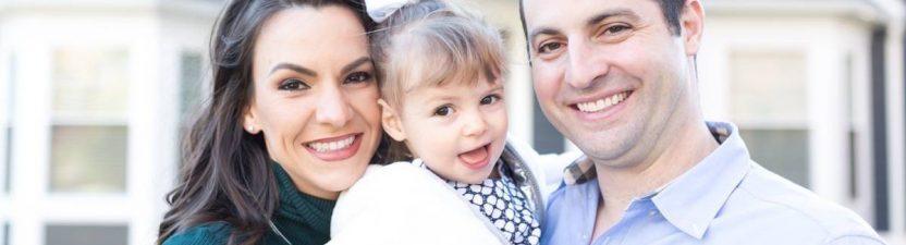 Family Photography Baby Girl Devon in Westfield NJ
