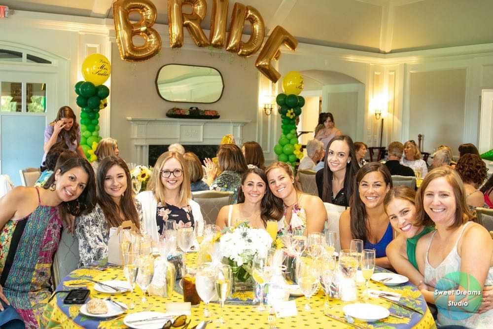 wedding bridal shower party roxticus golf club nj