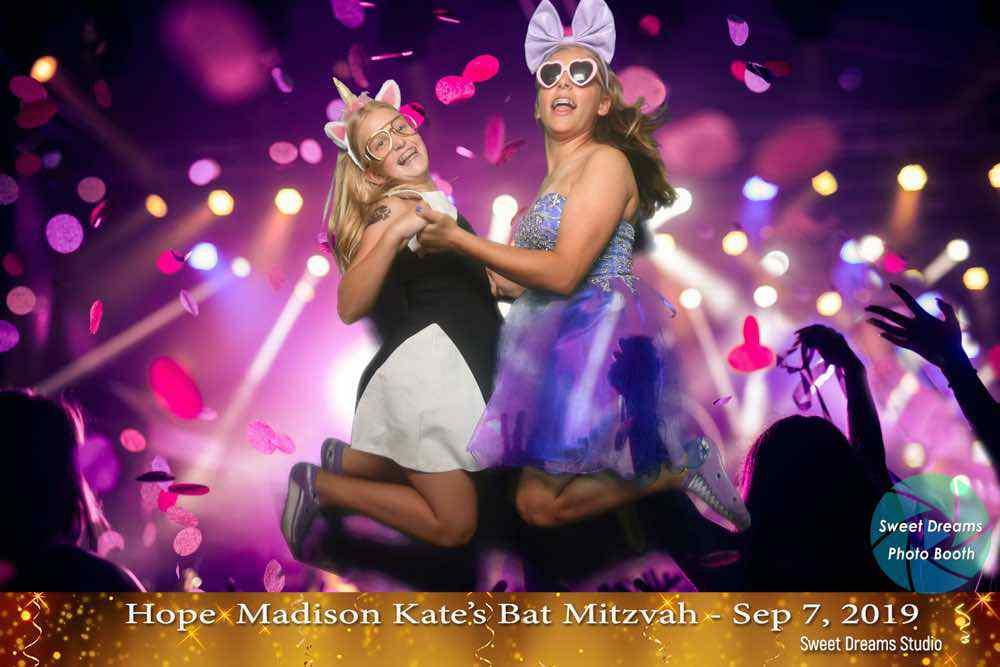 photo booth rental nj bat mitzvah party